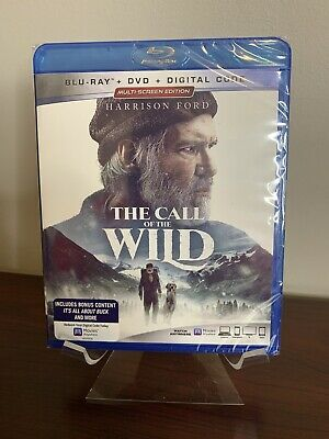 The Call of the Wild (Blu-ray+DVD+Digital) Factory Sealed