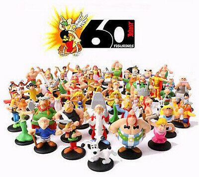 Complete collection ASTERIX 60 figures McDonald's Happy Meal mac do mcdo mc