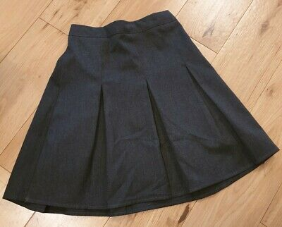 Girls George Grey Pleat School Skirt Age 6-7