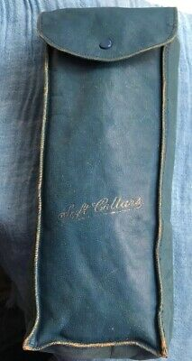 Antique Leather Soft Collar Case