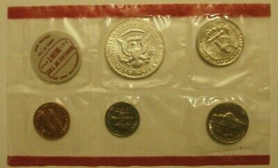 1968 United States Of America     Mint Set  5 Coins   Unc/ Condition