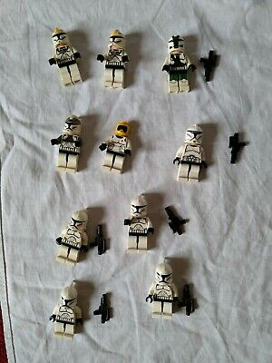 Lego Star Wars minifigure Clone troopers