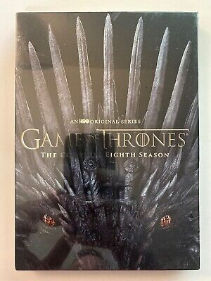 Game of Thrones Season 8 (DVD, 2019, 4 Disc Set) Brand New