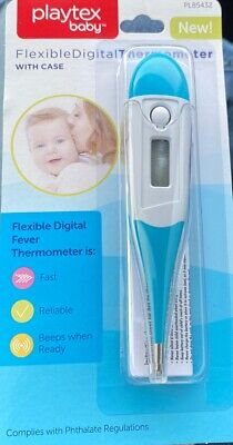 Baby Thermometer for Fever Flexible Digital with Case - Brand New
