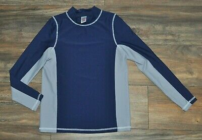 Mini Boden Johnnie B Boys Kids Swimming Top Wetsuit 11-12 Years Blue Long Sleeve