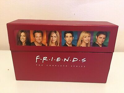 Friends The Complete Series 40 DVD Box Set W/ Booklet Seasons 1-10