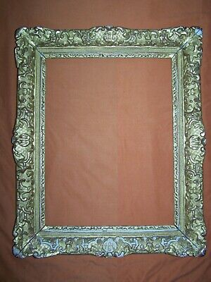 Beautiful 17th Century carved oak, gilded, frame, LOUIS XIV (1643-1715) period