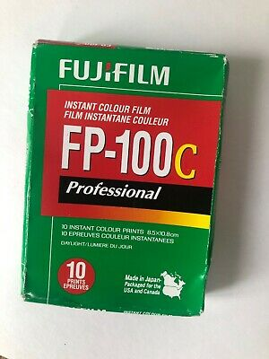 FujiFilm FP-100C Professional Instant Colour Film, IN FRIDGE SINCE PURCHASE