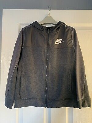 Boys Nike grey hoodie  age 10-12 years