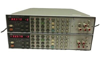 2 Hp Agilent 3456A 6½ Digit Microprocessor Digital Multimeter