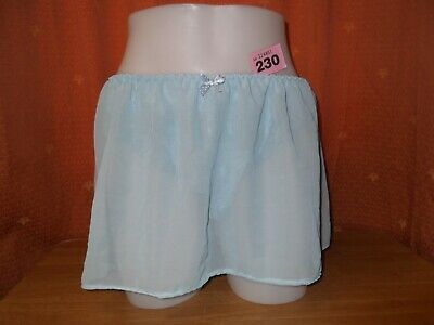 Sissy Maids~Adult-Baby-Tv/Cd~Unisex Blue Lace Pants With Chiffon Skirt 230