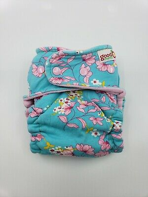 Good Mama Fitted cloth Diaper Very HTF Limited Edition  cherry blossoms