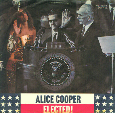 Alice Cooper / Elected! / Vinyl / Hardrock / Heavy / AOR / Warner Bros. Records