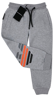 NEW Emporio Armani Junior RRP£139 Designer AGE4YEARS boys Jogger sweatpants A319