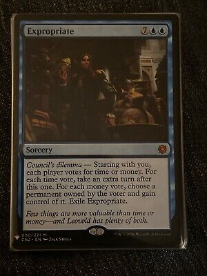 MTG ( Expropriate ) Mystery Booster Magic the Gathering