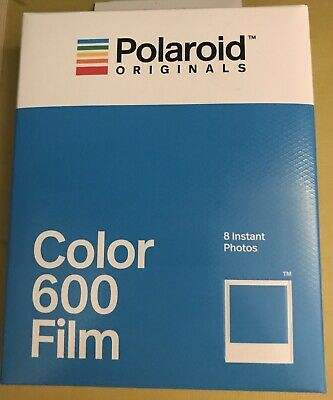 Polaroid 600 Color Film 600 - New - 4 Pack - 32 Individual Photos