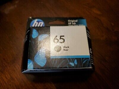 HP 65 Black Ink Cartridge N9K02AN Authentic HP ink