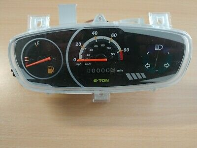 E -Ton Beamer scooter Speedometer / Instrument Panel 2002 - 2009