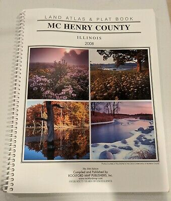 McHenry County Illinois 2008 Land Atlas & Plat Book