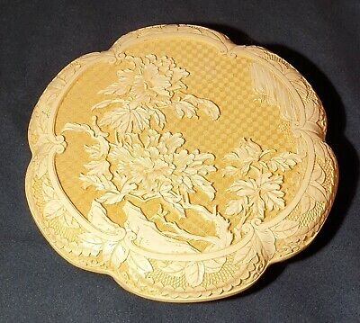 """9 1/2"""" x 2"""" ANTIQUE CHINESE DEEPLY CARVED CINNABAR LACQUER RARE BOX"""