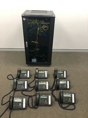 Panasonic KX-NS700 Phone System with 9 handsets