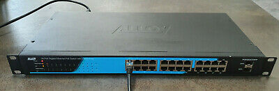 ALLOY POEGE24T2SFP 24 Port Gigabit Ethernet 802.3at PoE Switch with 2 SFP Ports