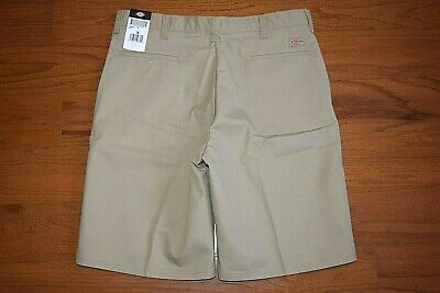Dickies - Beige Work Shorts - Men Size 36 - Polyester Cotton Blend -New With Tag