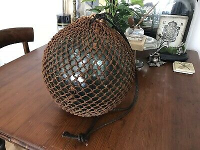 Vintage Authentic Large Netted Japanese Sea Float ~ 30cm (12') Size #2