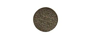 Germany-Aachen. 3 Marck 1754. Silver. Francis 1 Charlemagne Reverse. Rare Coin