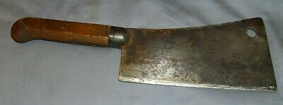 Samuel Lee Knife Steel #8 Butcher Meat Cleaver L.f.& C. Pat. May 25Th 1886