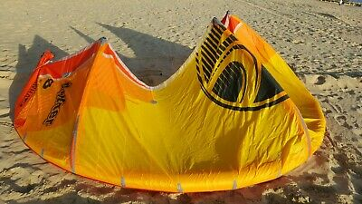 2019 Cabrinha Drifter kite 8m yellow excellent condition 12 months old