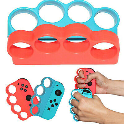 Portable Left/Right Fitness Gaming Finger Clasp Grip Handle for Switch NS Boxing