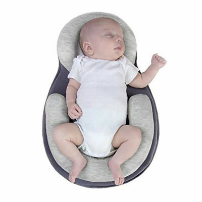 Baby Pillow Infant Newborn Cushion Prevent Flat Head Sleep Nest Pod Anti Roll。