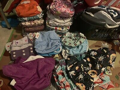 Cloth Diaper Lot, 50+ items