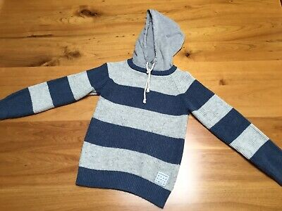 Country Road Boys Size 6 Knitted Hooded Jumper - Great Buy!!!