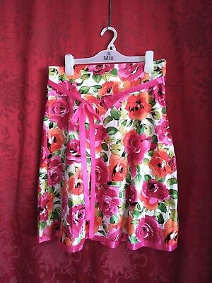 Ladies Size 10 Skirt Rockabilly Rock N Roll Style