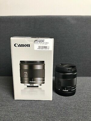 Canon EF-M 11-22mm f/4.0-5.6 STM IS Lens AUS STOCK 5 Year Warranty