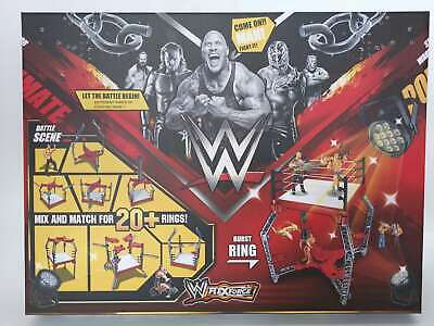 WWF WWE Large Wrestling ring 20+ designs OR  wrestle mania figures