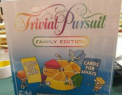 Hasbro Trivial Pursuit Family Edition Game - E1921 Brand new and sealed