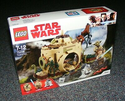 Star Wars Lego 75208 Yoda's Hut Brand New Sealed