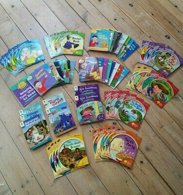 HUGE COLLECTION of OXFORD READING TREE & BIFF CHIP & KIPPER & SONG BIRDS PHONICS