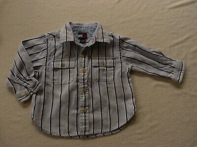 TOMMY HILFIGER boys shirt size 6-12 months - $4 post opt