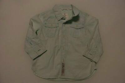 COUNTRY ROAD mint green boys shirt size 2  - $4 post opt