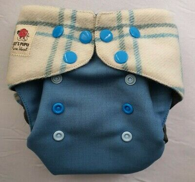 New Lily's Pupu  Wool nappy cover size os