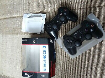 X2 PS3 Dual Shock Wireless Controller - Sixaxis - Sony Playstation 3 - OFFICIAL