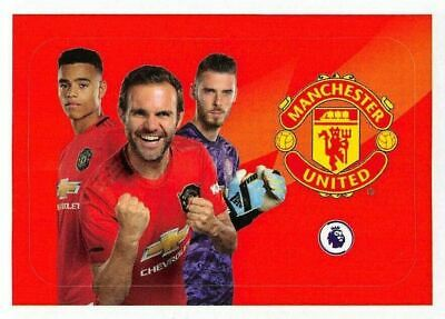 14 MANCHESTER UNITED Panini Football 2020 Premier League sticker