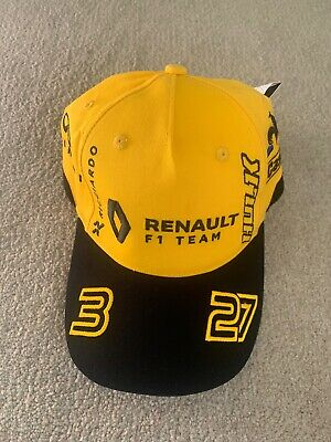 RENAULT F1® Official Adults Team Cap - 2019 - Yellow