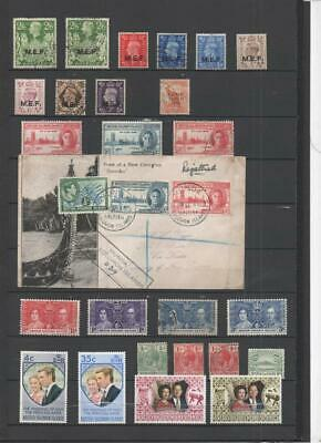 British Solomon Is. To Czechoslovakia Collection On 12 Pages