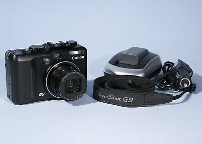 Canon PowerShot G9 12.1MP Digital Camera * Fully Working & Excellent Condition