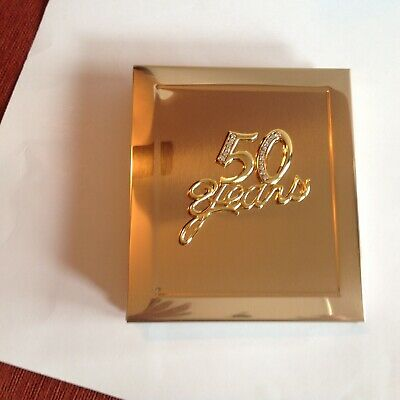 NIB 50 Years Anniversary Photo Album With Stones